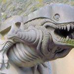 Scotland Paisley Alien Gargoyle