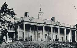 Mount Vernon in 1858. Copyright Mount Vernon's Ladies Association