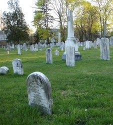 Cemetery Facing NE: Historical Perspectives, Inc.