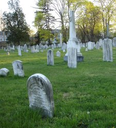 Cemetery Facing NE: Historical Perspectives, Inc.