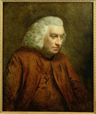 Dr Samuel Johnson 1709 - 84, John Opie RA