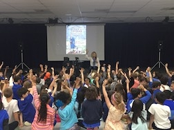 School reading assembly