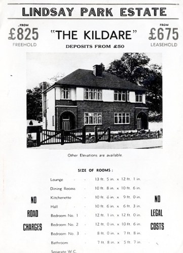 suburban 1930s houses