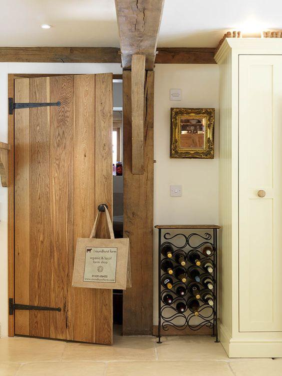 ledge and brace door