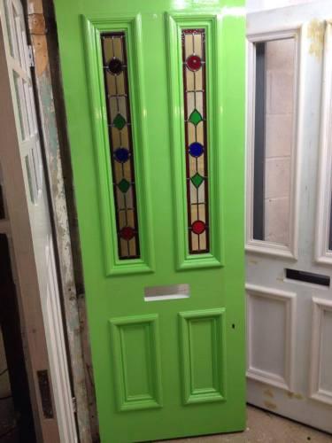 pantone green door