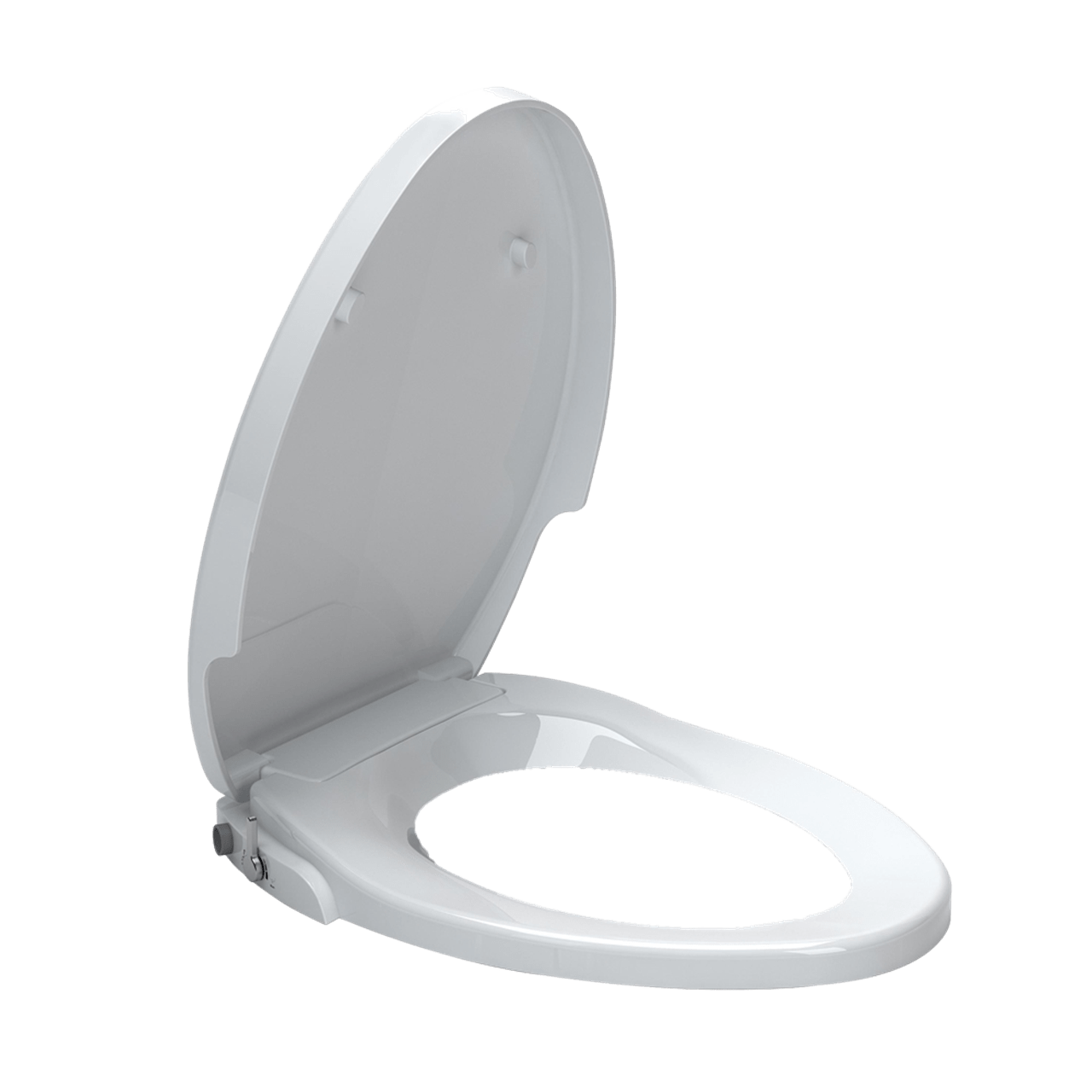 Historic Houseparts Inc Toilet Seats Brushes American Standard Round Front Aquawash Manual Spalet Seat With Telescoping Lid