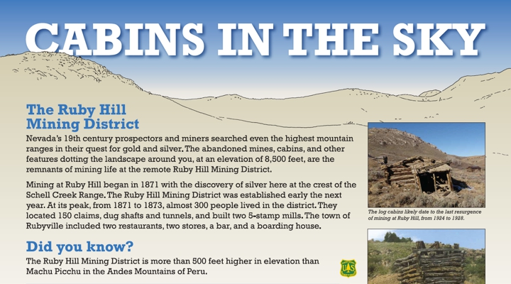 Cabins in the Sky: The Ruby Hill Mining District
