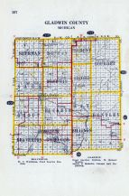 Michigan State Atlas 1916 Automobile And Sportsmens Guide