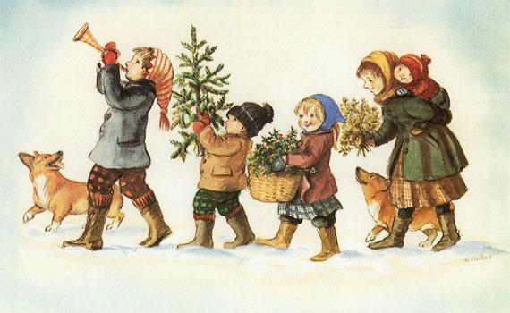 A Joyful Tasha Tudor Christmas Opening Day Of Holiday