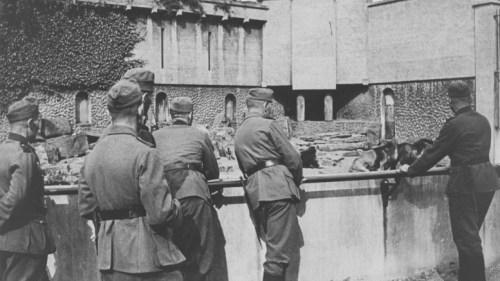 Duitse soldaten in Artis.