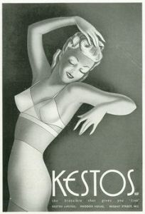 kestos 1930s UK Womens underwear advertsing