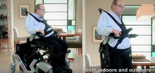 upnride rolstoel