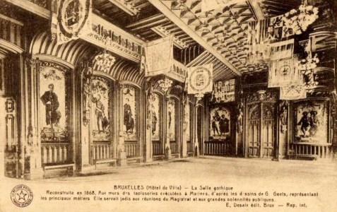 gotische zaal stadhuis Brussel