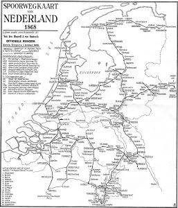 spoorwegenkaart 1868