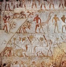 muurschildering tombe Rekhmire