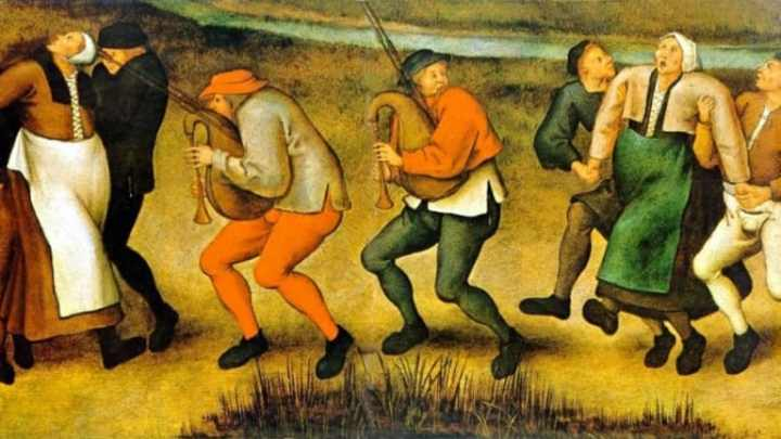 Image result for dancing plague