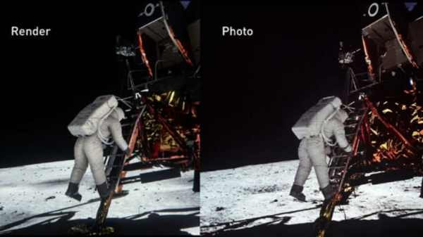 Lighting Simulation Offers More Proof of Moon Landing ...