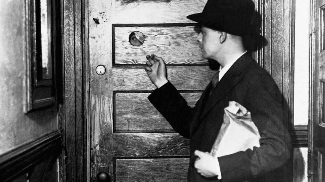 Image result for door with peephole+speakeasy