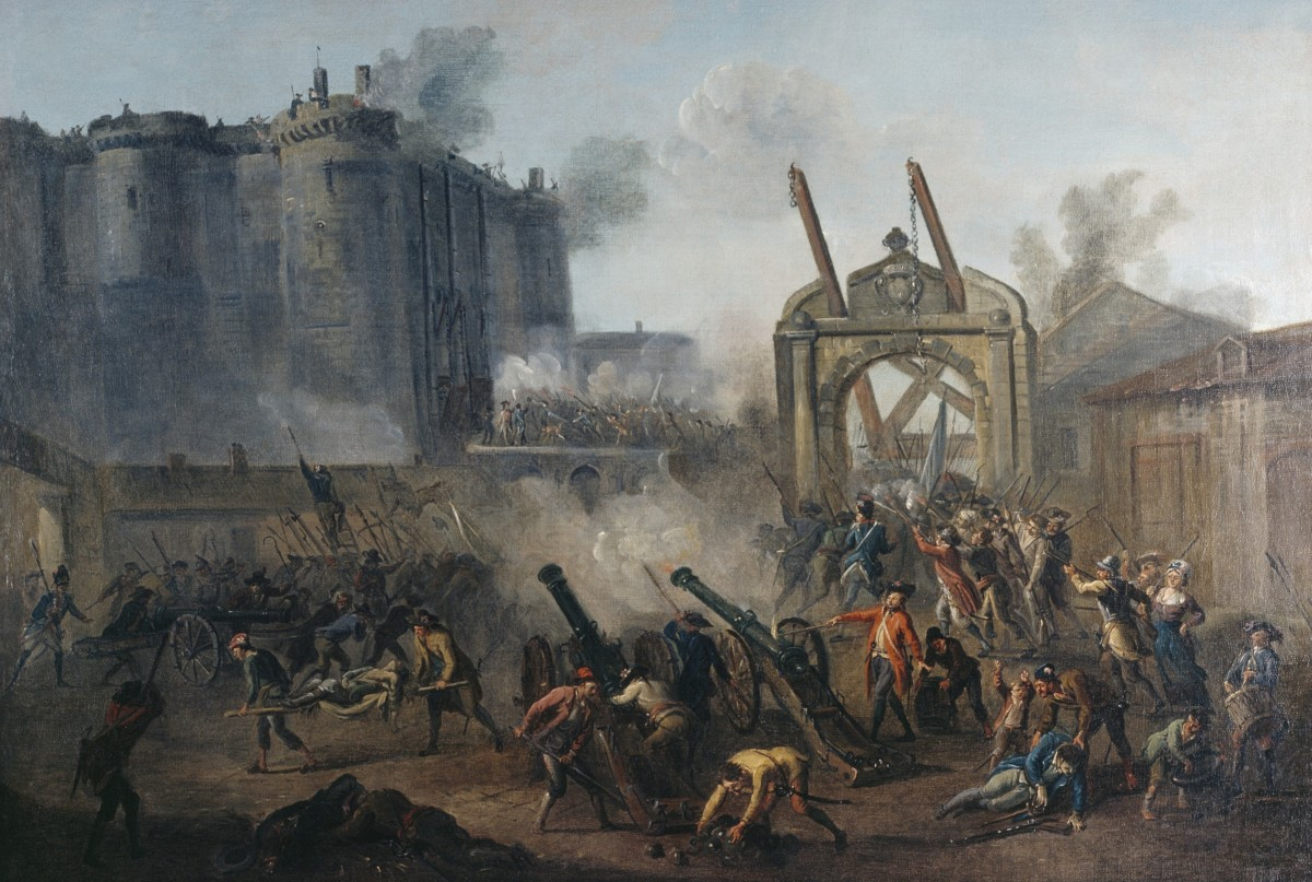 A French Mob Storms The Bastille 225 Years Ago