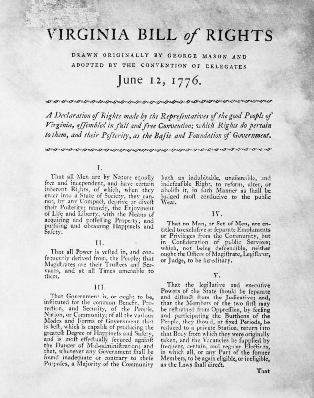 Why Does the Constitution Include the Bill of Rights? - HISTORY