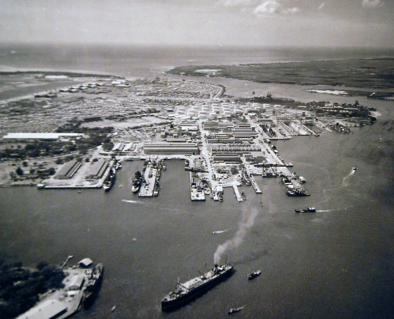 80 G Pearl Harbor Navy Yard Oahu Territory Of