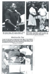 1992 Martinsville Appreciation Day, Sentinel News