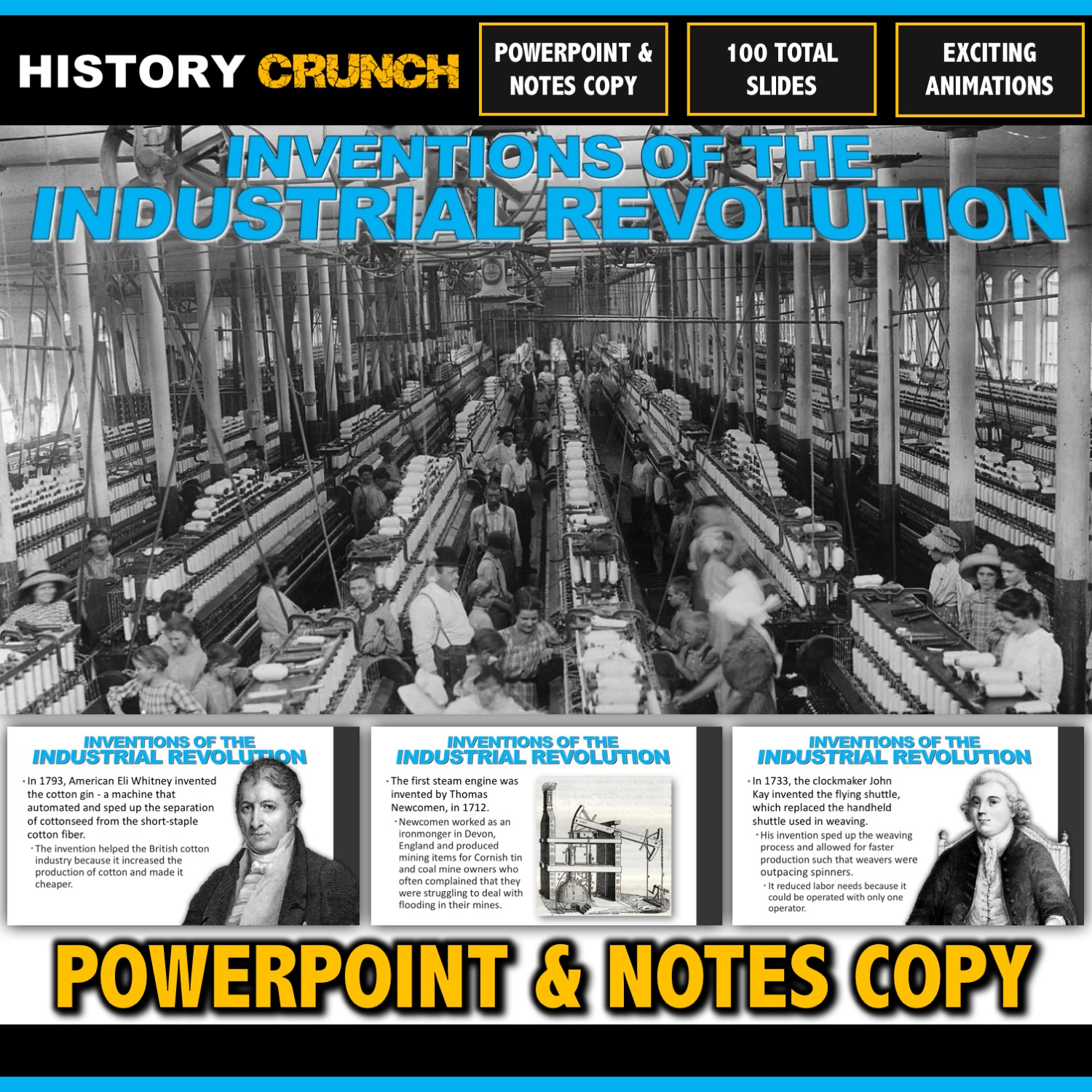 Industrial Revolution Inventions And Inventors