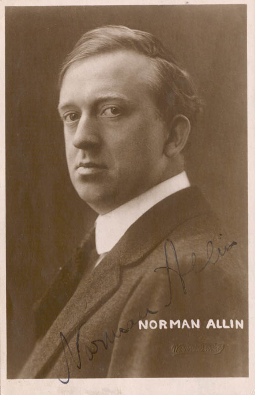 Image result for Norman Allin