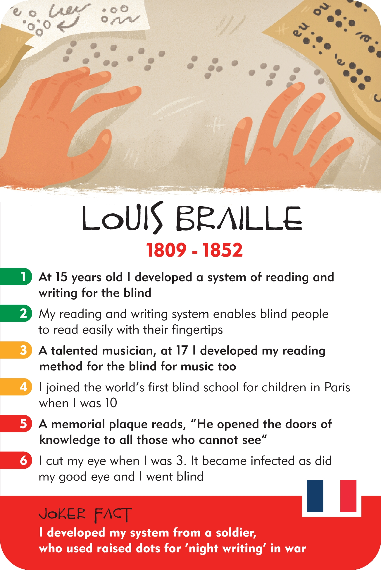 Louis Braille Facts For Kids