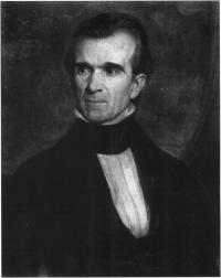 US President James Polk (Tennessee Historical Society)