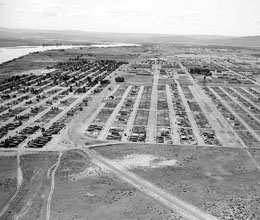 Construction Of North Richland Construction Camp Which Will Eventually House 25 000 Hanford
