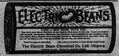 Robert Bate was also president of the Electric Bean Chemical Company. Source: Ottawa Journal, June