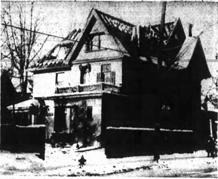 The target of the demolition. Source: Ottawa Journal, December 17, 1954.