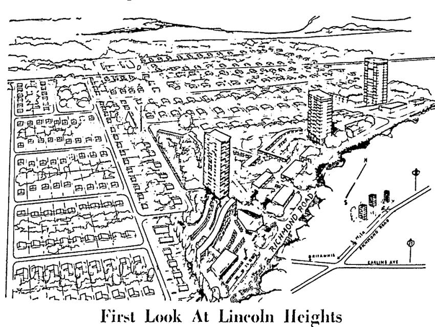 Sketch. Source: Ottawa Citizen, January 18, 1958, Page 1.