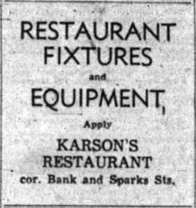 "For Andrews' purposes, the fight was over. The days of ""Karson's"" were numbered. Source: Ottawa Journal, January 3, 1953, p. 23."
