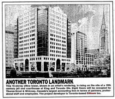 The new development was announced in October 1988, only 10 years after the negotiated agreement. Source: Toronto Star, October 5, 1988, p. D12.