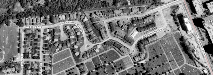 The site in 1991. Image: geoOttawa.