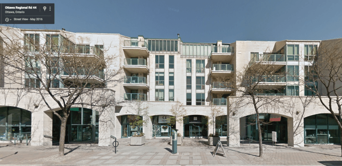 Gallery Court, 30 years on. Image: Google Maps.