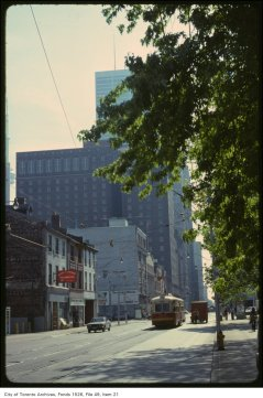 King Edward Hotel from Church. May 31, 1979. Image: Fonds 1526, File 49, Item 21.