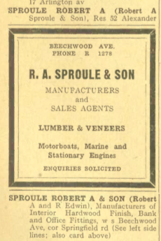 Source: Might's Directory of the City of Ottawa, 1923.