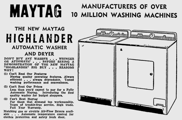 A 1956 advertisement. Source: Ottawa Citizen, December 13, 1956, p. 45.