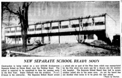 Nearing completion. Source: Ottawa Citizen, November 27, 1959, p. 24.