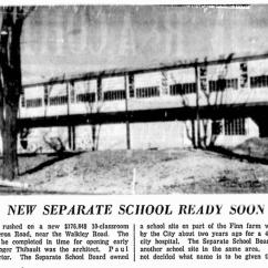 Nearing completion. Source: Ottawa Citizen, November 27, 1959, p. 24.