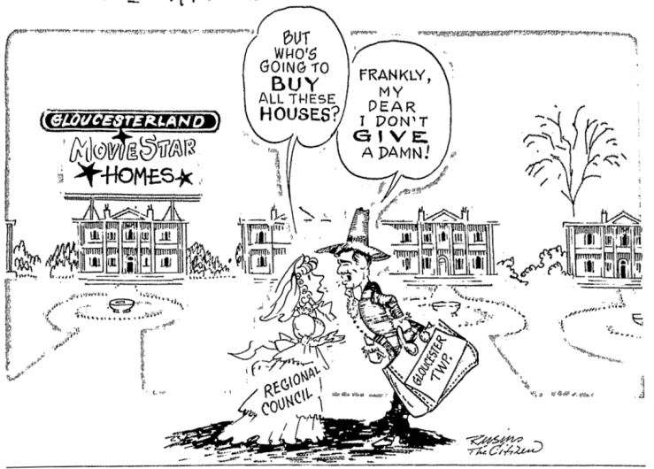 The Citizen's cartoonist had a great time with the affair. Source: Ottawa Citizen, November 20, 1980, p. 6.