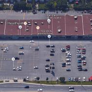 Time hasn't been kind to Miska's Glenwood Plaza. Image: Google Maps.