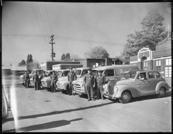 The company trucks. October 3, 1955. Image: City of Ottawa Archives CA34567.