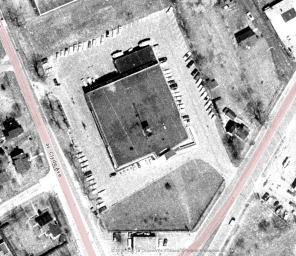 From above in 1965. Image: geoOttawa.