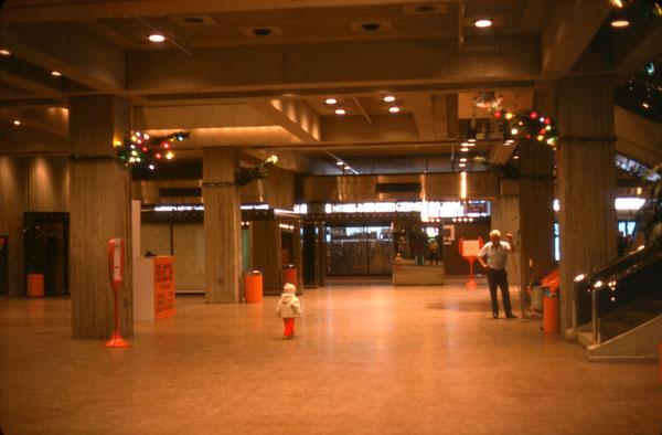Interior, Phases I and II. January 1977. Image: Public Works / LAC Accession 1984-082 NPC Box TCS 00014 Item 3.