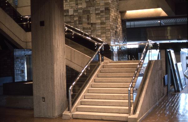 Interior, Phase II. 1975. Image: Public Works / LAC Accession 1984-082 NPC Box TCS 00041 Item 3-27.