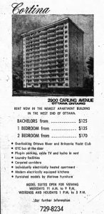 Ad for the Cortina. Source: Ottawa Journal, October 3, 1970, p. 29.